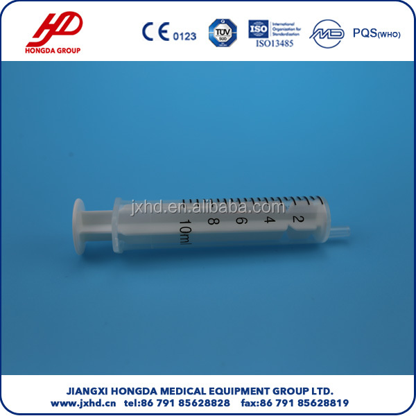 Disposable 2-part Syringe