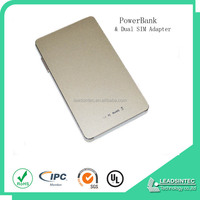 Newest accessories mobile power bank function bluetooth dual sim adapter for iphone6/iphone 6s plus (suit for all iphone product