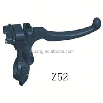 Motorcycle front brake switch