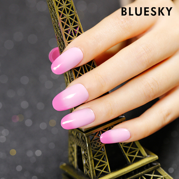 Bluesky changing colorful uv nail polish sparkle gel