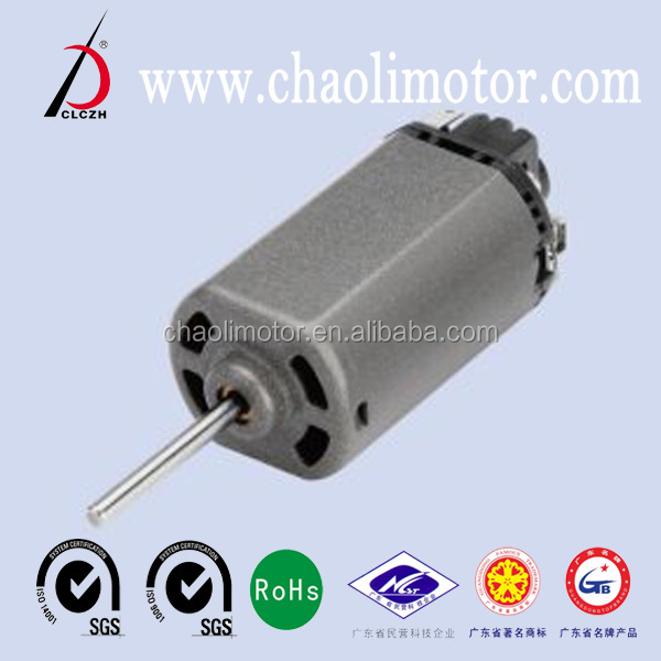 High quality low price 8.4V 18500 rmp/min 2.27A CL- FS480WA DC motor with price advantage