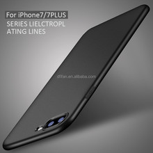 DFIFAN Matte Black Soft case for iphone 7 / 8 plus,ultra Slim phone case for apple iphone 7 / 8