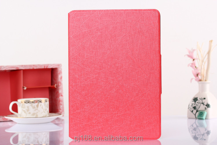 For Ipad 6 Accessory Wholesale Tousled Texture Series Stand Leather Tablet Case for Ipad Air 2 With Credit Card Storage