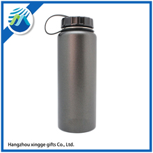 Single Wall 1 Liter Fashion Bicycle Sports Stainless Steel Water Bottle