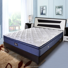 5 Star hotel king size mattress bed with fabric futon