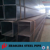 q235 galvanized structural steel square tube construction materials fiberglass square tube