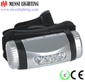 high quality ultra bright low price 4 led Dry Battery Headlight