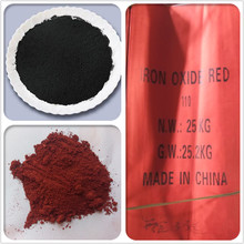 iron oxide prices/color powder red 130 for paint/cold asphalt/concrete
