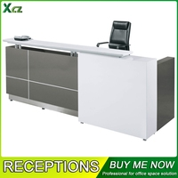 2015 New Hot Sell Modern Unique Office Reception Counter