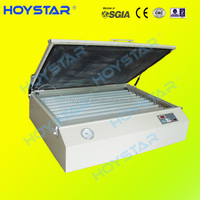 Desktop uv screen printing exposure units for making screen frame plate