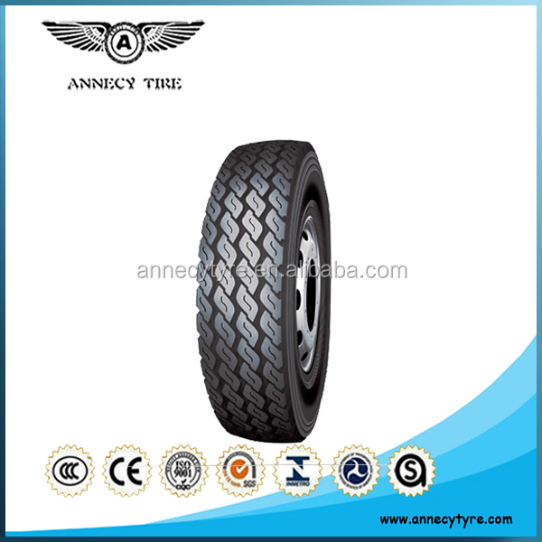 Chinese Rubber Truck Tires 1200R20 Brands Annecy for Coalmine Region