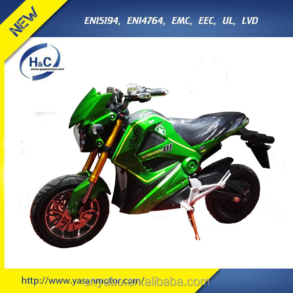Best 3000W small electric motorcycle with 80km/h high speed