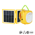Brightest Foldable Panel System Solar Led Emergency Camping Lantern With Mobile Charger
