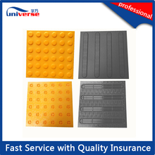 TPU Rubber Warning Blind Tactile Guiding Studded Paver Tiles