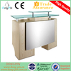 glass reception desk for cheap