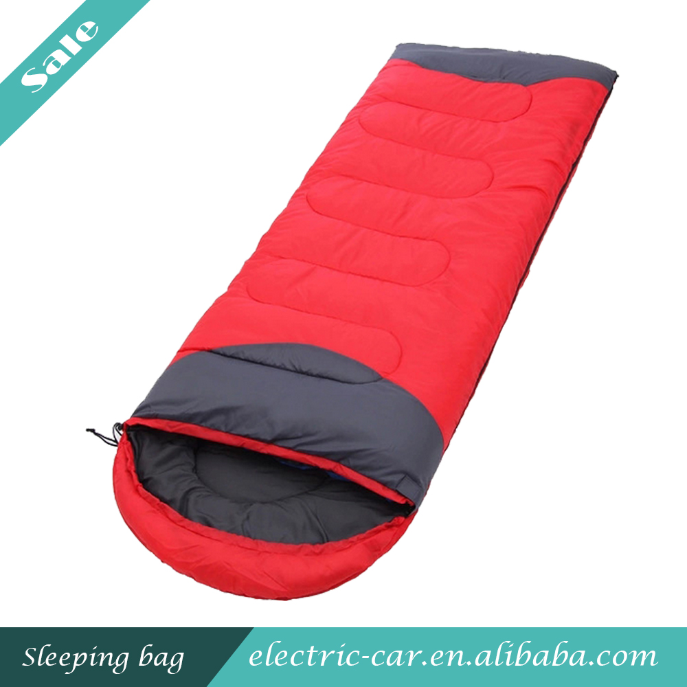 Waterproof Outdoor Sleeping Bags Nylon Fabric Sleeping Bag