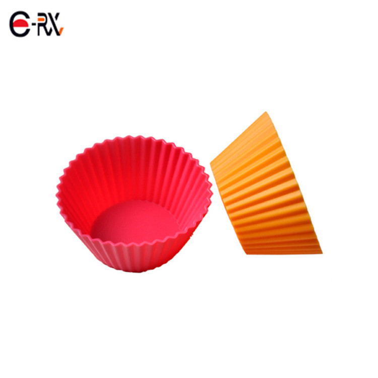 Best seller non-stick Dishwasher Safe silicone cupcake liner for baking cake