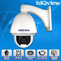 HIQ-7390 Speed Dome 18X Optical Outdoor Full HD Zoom IP Camera