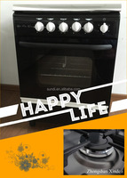 Black Color Professional Hot Selling Economy Prestige Cooking Appliances Gas Stove Auto/Manual Ignition