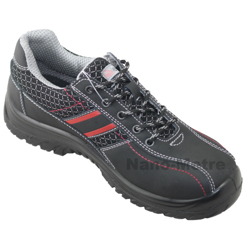 NMSAFETY woodland safety shoes/Nubuck leather active safety shoes