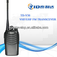 5w durable samr tphone frequency handheld scramble band uhf/vhf fm two-way radio