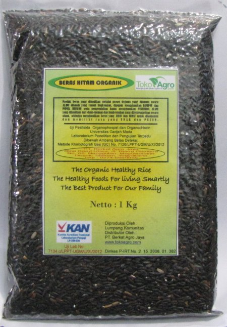 Oryza Sativa / Black Rice Organic Grade A++++ Original From Java