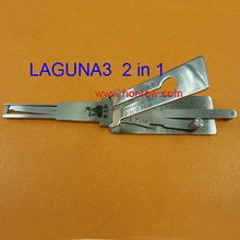 Original Lishi LAGUNA Renault in 1 lock pick and decoder combination tool with best quality