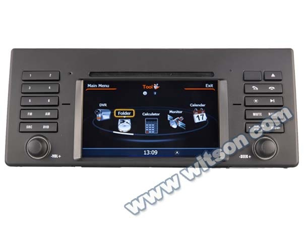 WITSON car audio DVD gps system FOR BMW 7 Series E38 1995-2001 WITH A8 CHIPSET DUAL CORE 1080P V-20 DISC WIFI 3G INTERNET