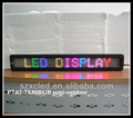 P7.62-7X80RGB full color programable high quality led display facade
