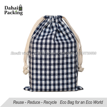 Personalized Design Fashion Canvas Cotton Drawstring Bag