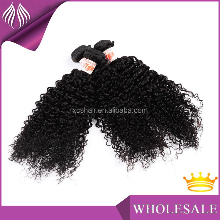 xcs factory hot sell the best grade Natural Virgin Raw Indian Hair Curly Wholesale Supplier Manufacturer Exporter