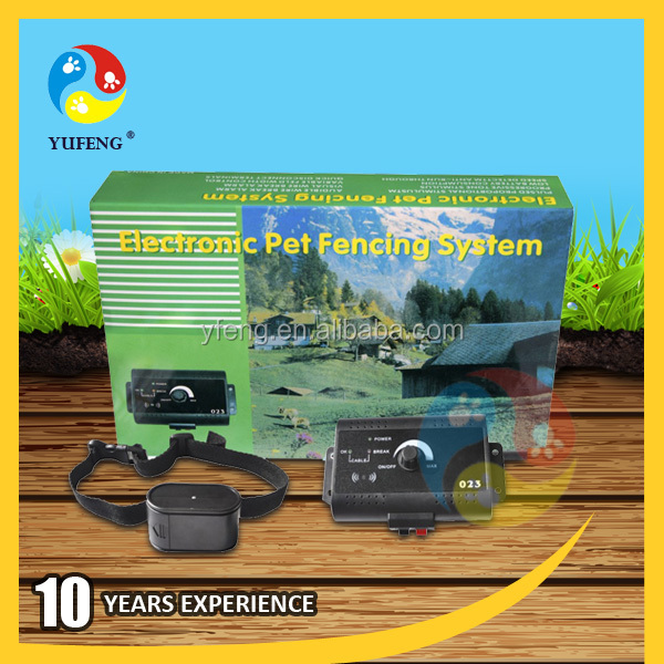 Dog Pet Smart In Ground Fence Containment System Electronic Shock Collar Fence