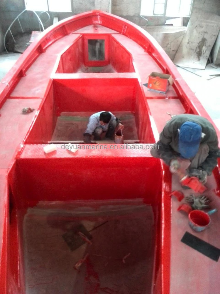 Fiberglass Open Type Life boat Smaller Cheap Prices