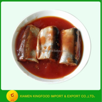 chinese canned mackerel fish in tomato paste