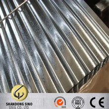 0.12mm galvanized steel corrugated plate with bushan logo and stamp