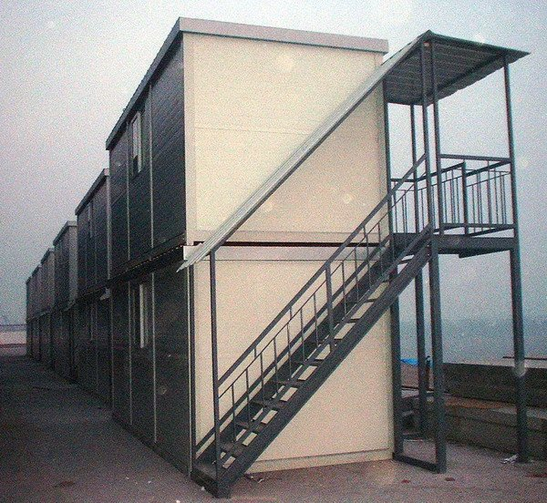 Economical and Practical Two Storey Container house design