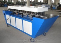 Metal sheet plate rolling flanging machine / TDF Flange forming machine