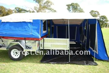 Hot dipped galvanized off road tent trailer