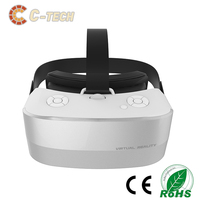 2017 newest high quality all in one VR glass V12 pictures 3d vr box 3d headset glasses