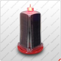 ML411A solar lantern with rechargeable battery