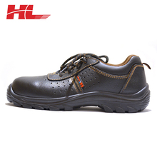 Embossed Cow Split Leather High Quality Cleanroom Ladies fashion branded china work Safety Shoes