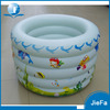 Round Shape White Customized Size Deep Inflatable Pool
