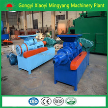 Large capacity Trade Assurance coal charcoal coke powder stick briquette press machine+86152251685757