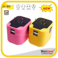 JY-303 Home Promotional Electrical Gift Item OEM/ODM Multi-function smart ic world travel adapter