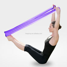 colorful yoga stretch exercise latex resistance bands