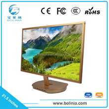 1920*1080 resolution 1080P 21.5 inch LED computer monitor with VGA/DVI input 12V power