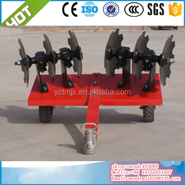 ATV disc harrow, ATV harrow cultivator