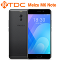 "Original Meizu Note 6 4G LTE Smart Phone 3GB RAM 32GB ROM Snapdragon 625 Octa Core5.5""FHD Dual Rear Camera Quick Charge"