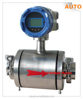 Beer/beverage/alcohol/milk/Electromagnetic flowmeter with low price/waste water flow meter