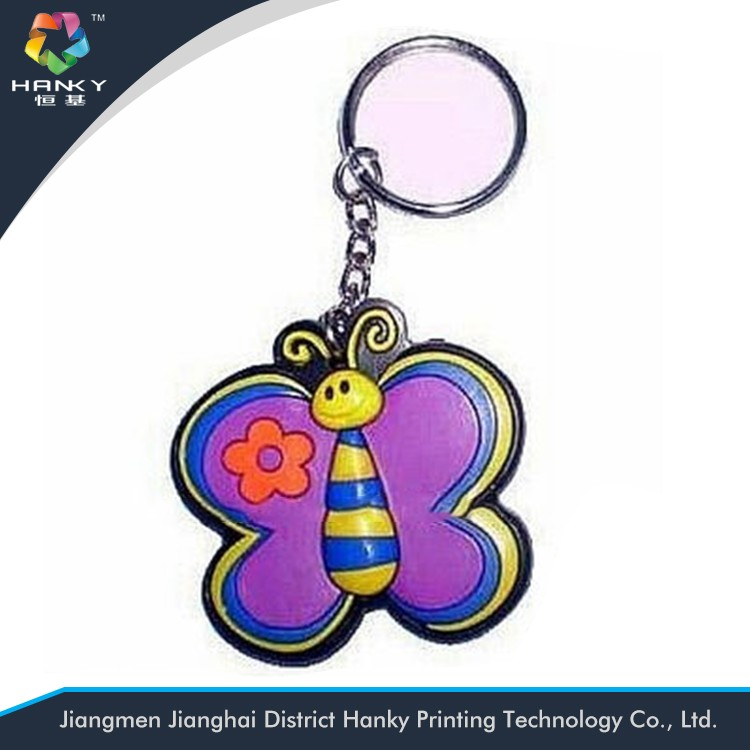 Wholesale 3d rubber animal keychain